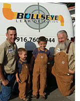 Bullseye Leak Detection Team, Sacramento, CA
